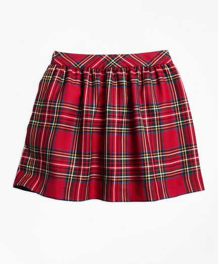Girls Holiday Tartan Skirt