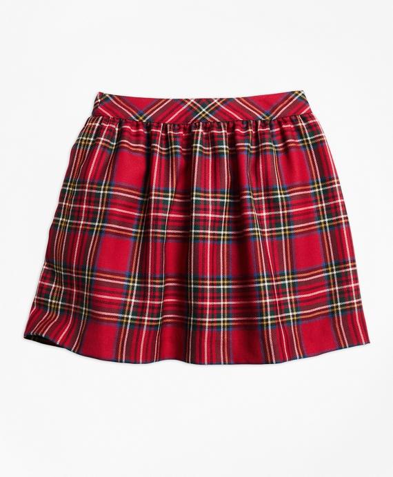 18504310fbe512 Girls Holiday Tartan Skirt - Brooks Brothers