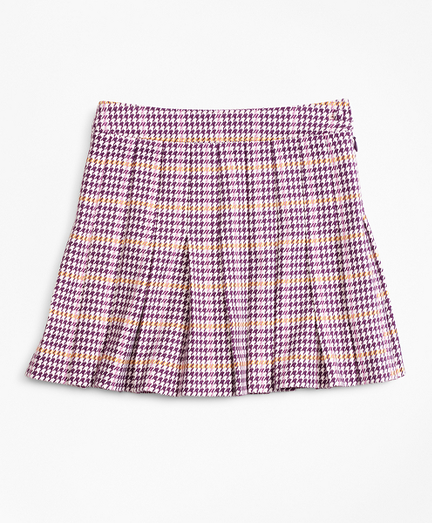 Girls Houndstooth Skirt