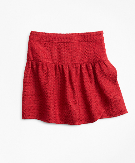 Girls Boucle Skirt