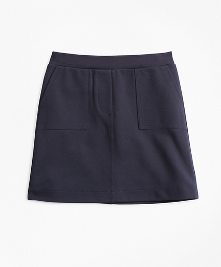 Girls Knit Ponte Skirt