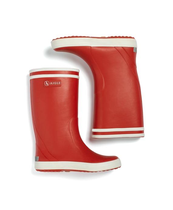 Girls Aigle Rainboots Red