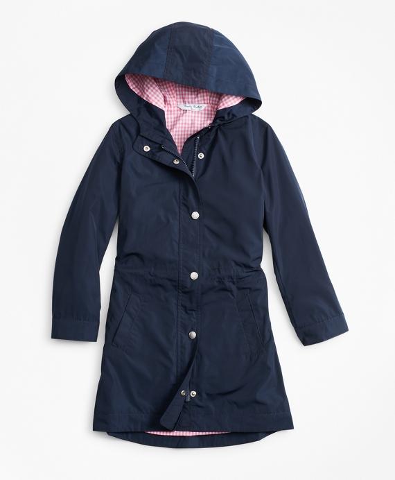 Girls Raincoat Navy