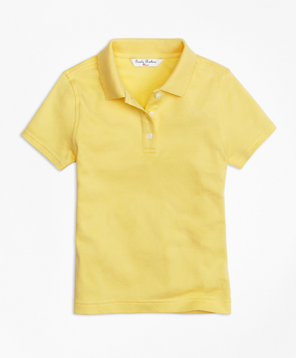 Girls Short-Sleeve Polo Shirt