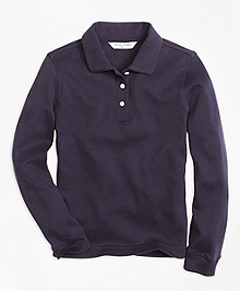 Long-Sleeve Polo