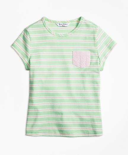 Girls Mixed Media T-Shirt