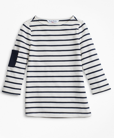 Girls Cotton Stripe T-Shirt