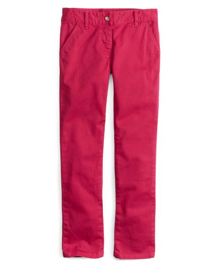 Girls Stretch Twill Skinny Pants