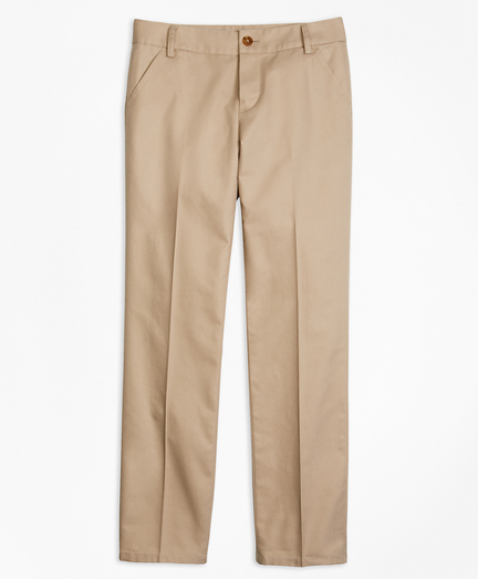 Girls Non-Iron Chino Pants