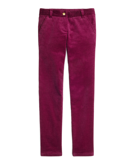 Girls Five-Pocket Skinny Corduroys