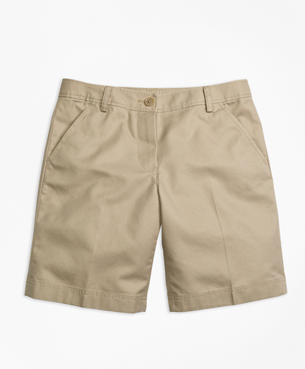Girls Chino Bermuda Shorts