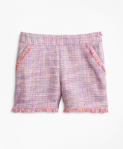 Girls Boucle Shorts
