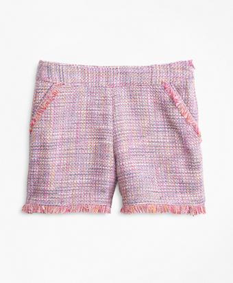 Girls Boucle Shorts