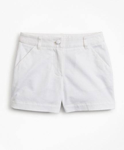 Girls Cotton Twill Shorts