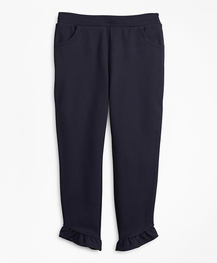Girls Knit Ponte Pants