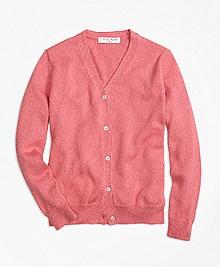 Supima® Cotton V-Neck Cardigan