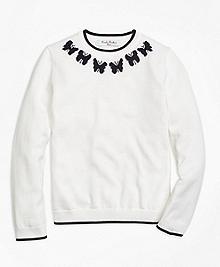 Supima® Cotton Intarsia Sweater