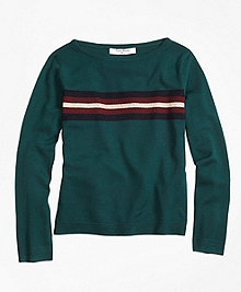 Merino Wool Boatneck Sweater