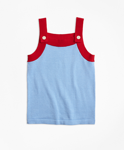 Girls Cotton Sweater Tank