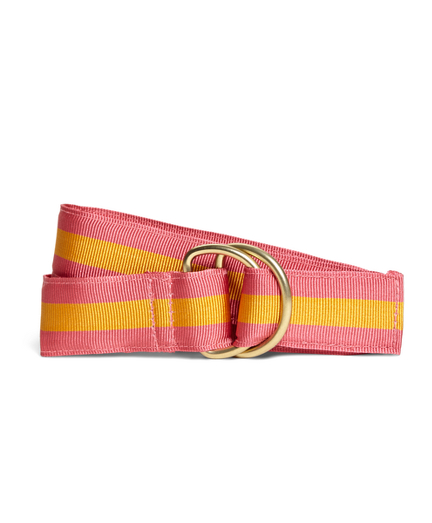 Girls Stripe Ribbon Belt