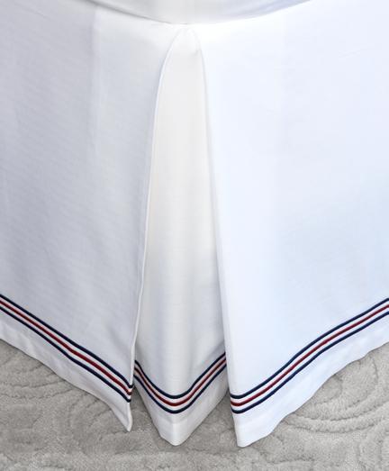 Herringbone King Bed Skirt