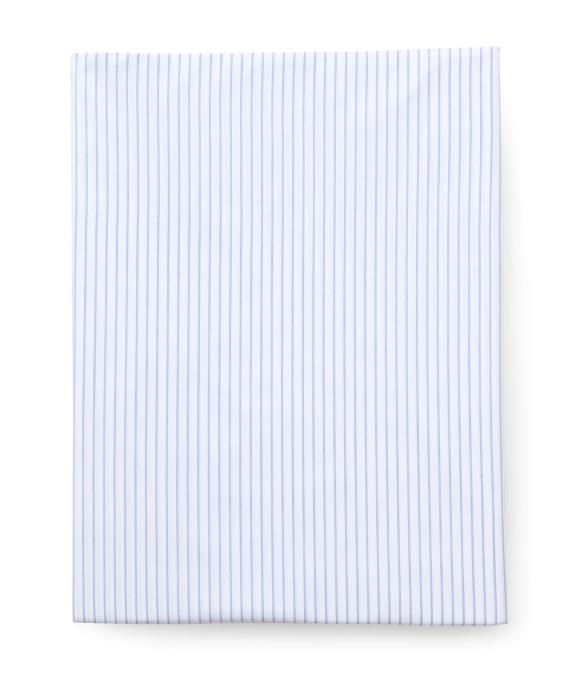 Pinstripe Queen Fitted Sheet Blue