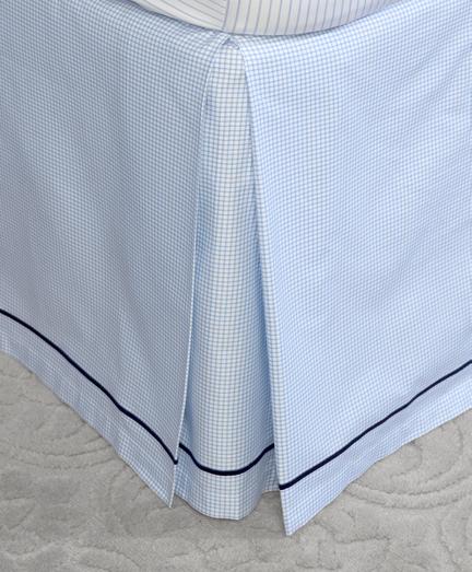 Windowpane Queen Bed Skirt
