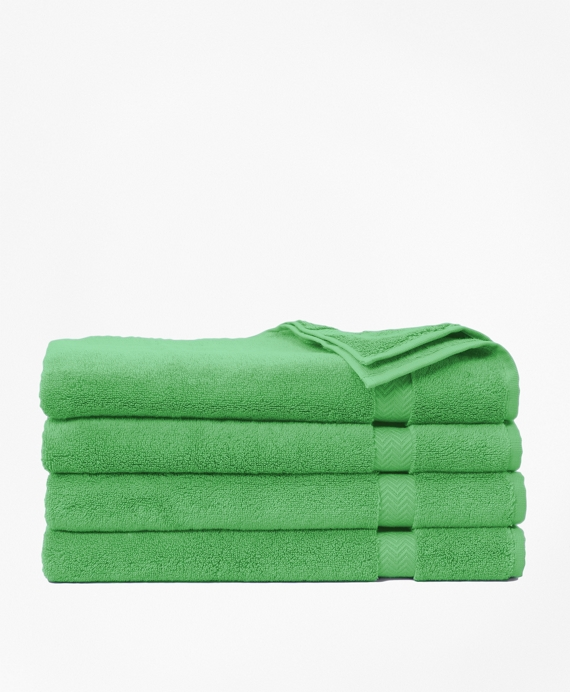 Terry Hand Towel Light Kelly Green