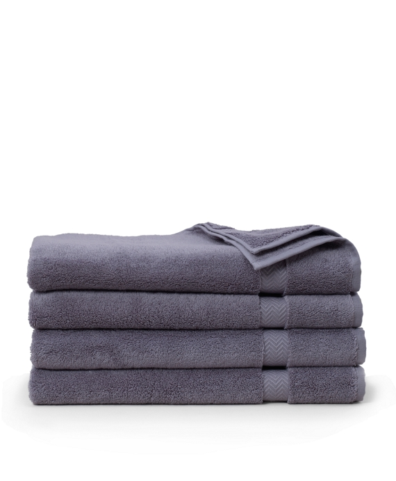 Terry Hand Towel Med Grey