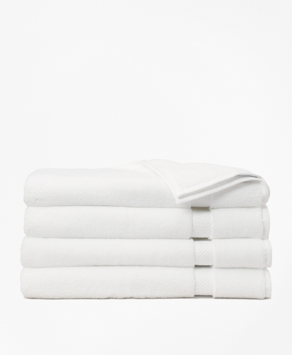 Terry Hand Towel White
