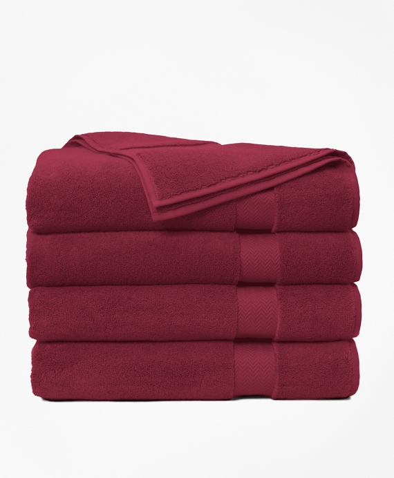 Terry Bath Sheet Burgundy