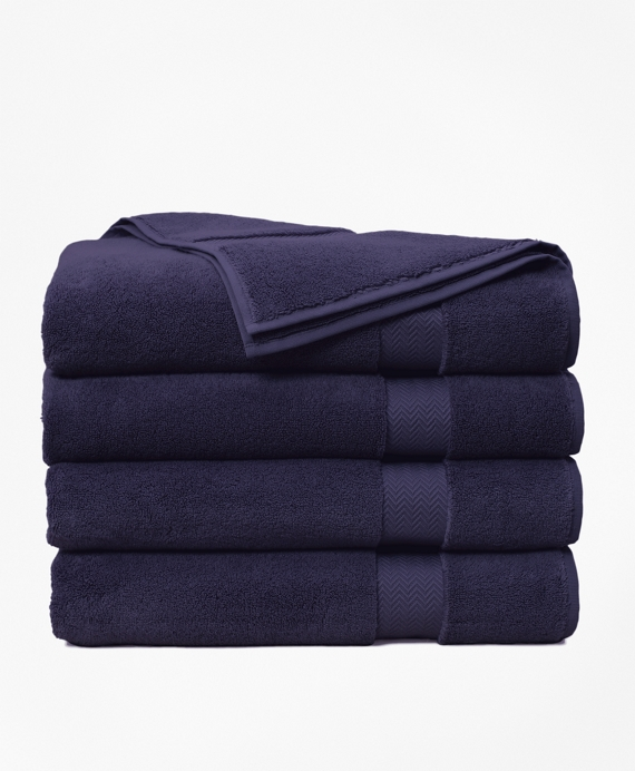 Terry Bath Sheet Navy