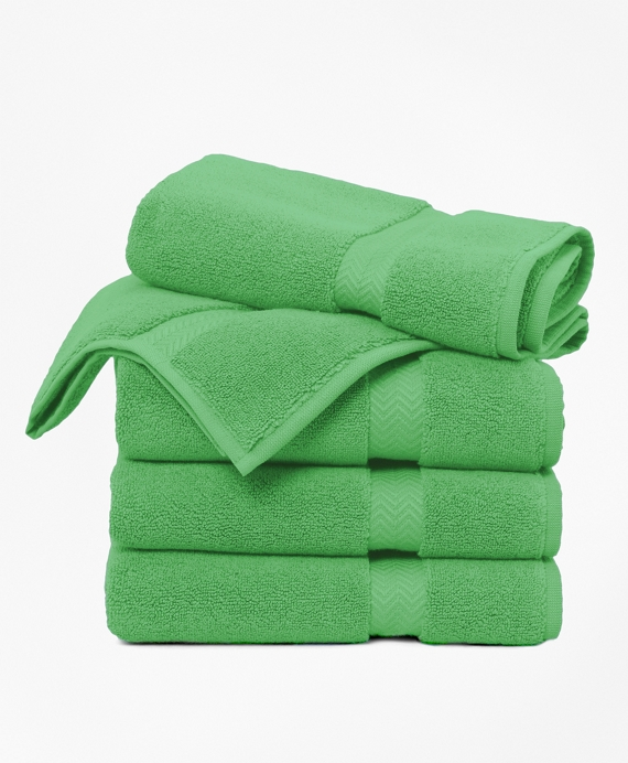 Terry Tub Mat Light Kelly Green