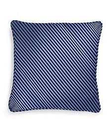 "Vertical Jockey Stripe 16"" Square Pillow"