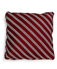 Diagonal BB#1 Repp Stripe 18&quot Square Pillow