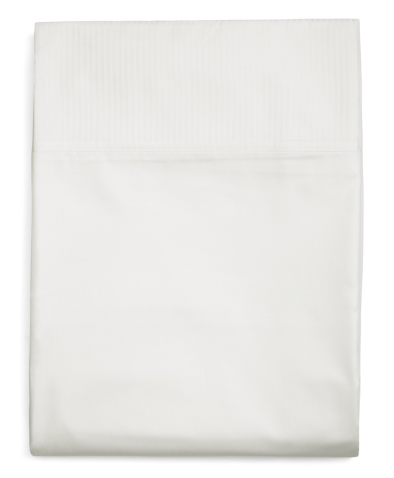 Sateen Full Flat Sheet White