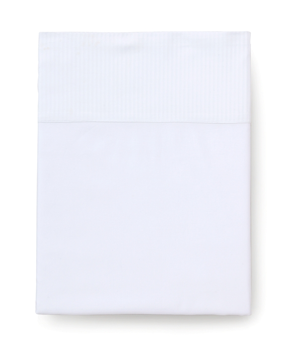 Sateen King Flat Sheet White