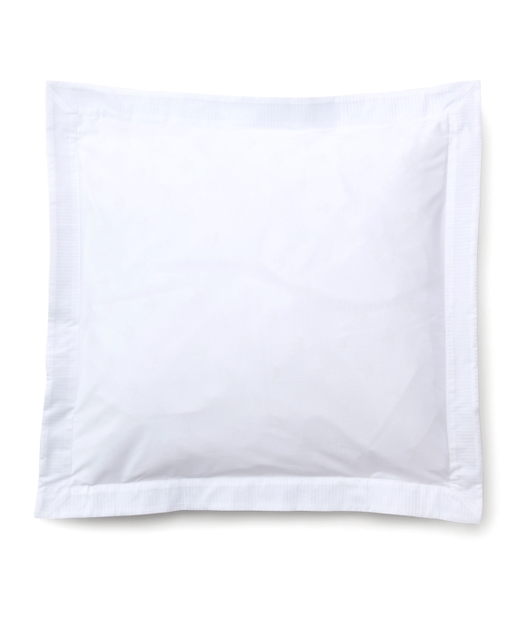 Sateen Euro Sham White