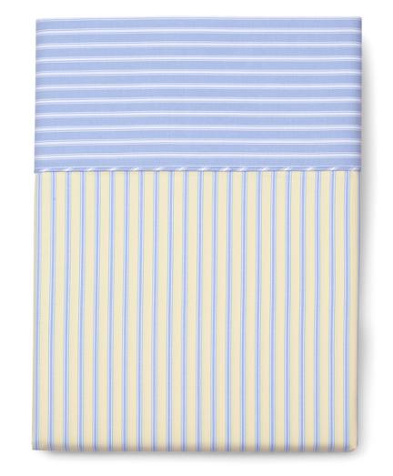Stripe Queen Flat Sheet
