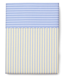 Stripe King Flat Sheet