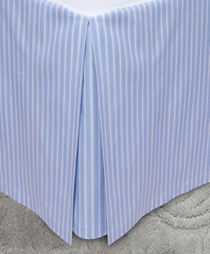Stripe King Bed Skirt