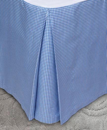 Gingham King Bed Skirt