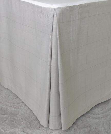 Glen Plaid King Bed Skirt
