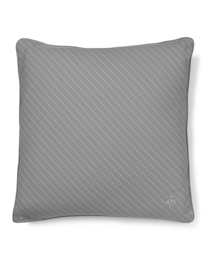 Diagonal Pinstripe Decorative Pillow Case