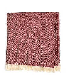 Merino Wool Herringbone Throw
