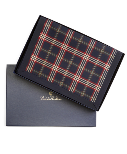 Tartan Four-Piece Placemat Set