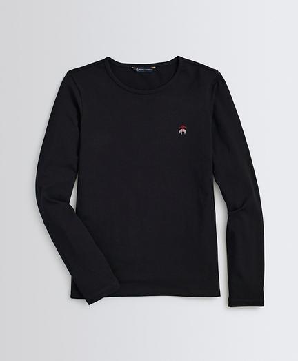 Stretch-Cotton Jersey Long-Sleeve T-Shirt