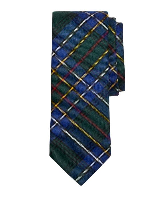 Modern Cockburn Tartan Tie Blue