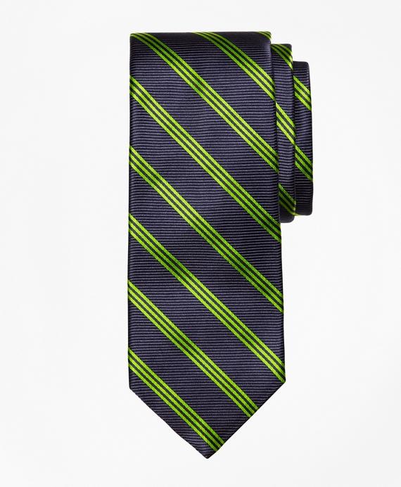 St. Jude Stripe Tie Navy