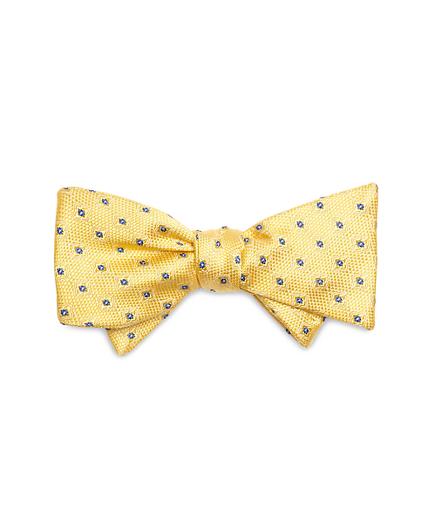 Textured Flower Bow Tie